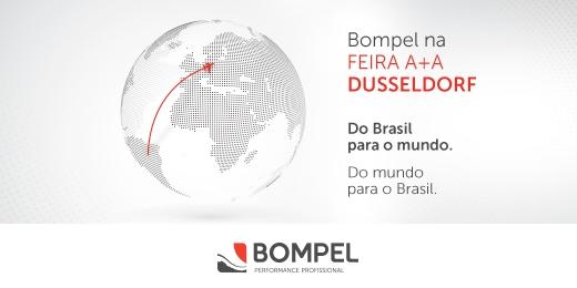 Bompel lança na A+A Trade Fair primeiro calçado de segurança com amortecedor aparente do Brasil