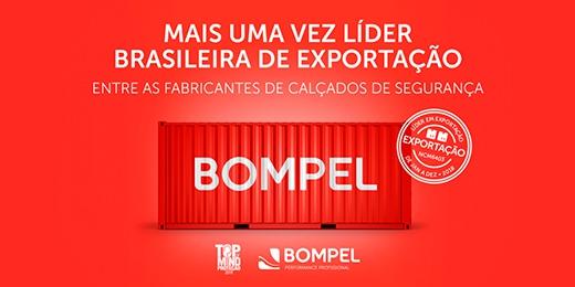 Bompel líder em exportação