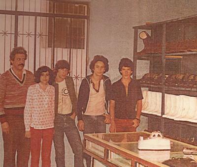 A Bompel começou suas atividades em uma sala de 12 m2, a sapataria